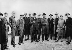 Group Portrait of Bauhaus-Masters in Dessau (1926)