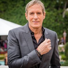 Michael Bolton chose the word COMPASSION at the Roc Nation pre-grammy brunch: February 2015 in Beverly Hills