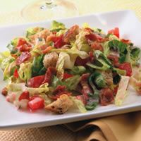 Paleo BLT Salad (skip the croutons)