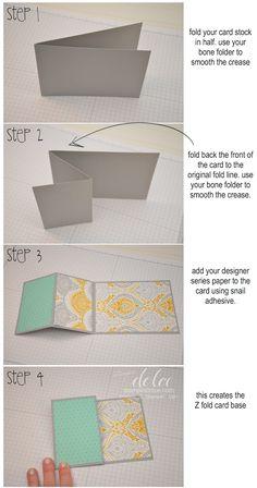 Z fold tutorial