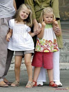 Infanta Leonor y Infanta Sofía
