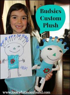 Budsies Custom Stuffed Animal Plush #productreview #kids