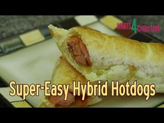 Hybrid Hotdogs - Super Easy Sausage Rolls - Tasty, Crispy Hotdog in Puff...