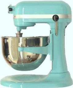 Kitchenaid 600 Martha Aqua Sky Color Tiffany Blue 6 Quart