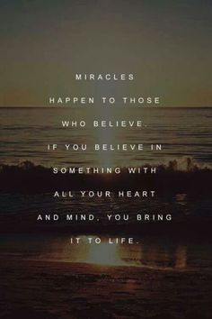 Miracles and belief