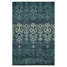 I pinned this Akot Ikat Rug in Blue from the Momeni event at Joss and Main!