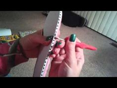 How to add soles to homemade crochet slippers - YouTube
