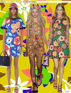 Spring 2015 Runway Trends: Flower Child via Aaryn West
