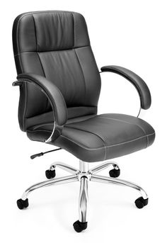 Ofm 517 Lx Executive Leatherette Chair Mid Back Sale Price 158 31