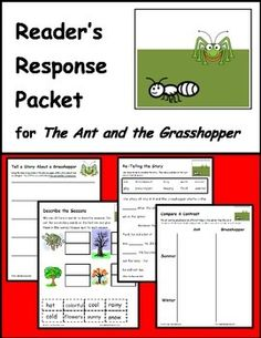 an essay on the fable the ant and the grasshopper in my culture My sympathies were with the grasshopper and for some time i never saw an ant without putting my foot on it in this summary (and, as i have discovered since, entirely human) fashion i sought to express my disapproval of prudence and commonsense.