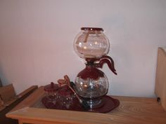 Vintage 1940's Silex 8 10 Cup Glass Coffee Maker