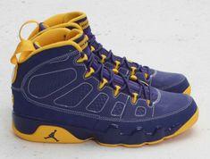 40d62f5fea8cc4 Young Air Jordan IX Boys Shoe Calvin Bailey Deep Royal University Gold  White 302370 445
