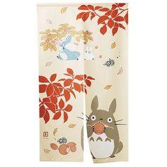 NOREN - Japanese Door Curtain - 85x150cm - autumn - made in JAPAN - Totoro - Studio Ghibli (new product 2016)
