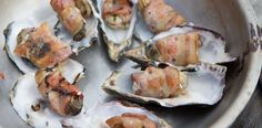 #Oysters and Blue Cheese wrapped in #Bacon BY Team Tong in Cheek #ultimatebraaimaster