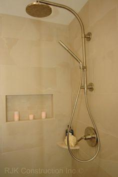 Kohler K PURIST HYDRORAIL BNDL 1HHS Kohler Purist Complete Pressure  Balanced Shower Refresh With HydroRail, Rain Shower Head, Hand Shower, And  Valve ...