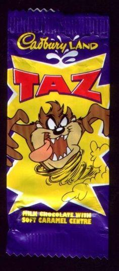 Cadburys Taz- REVIVE IT NOW!