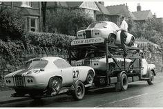 Team Lotus Elite team transport 1962