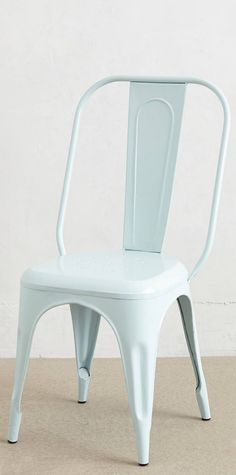 Sky blue dining chairs #anthrofave