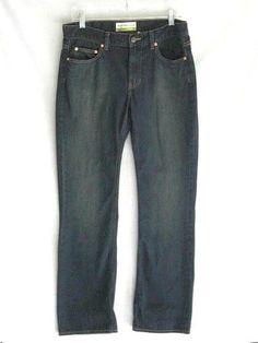 9e59d55a Old Navy Womens Boot Cut Low Waist Denim Blue Jeans 8 32/32 #OldNavy