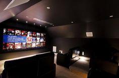Alguns dos melhores 'cinemas em casa' do mundo. - Cybervida