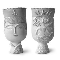 Jonathan Adler Utopia Sailor/mermaid Vase in Sail Away love these... a little out of my price range though...