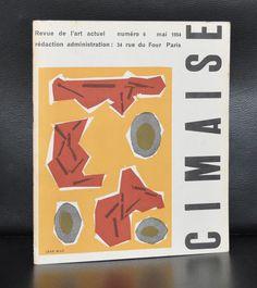 Revue de l'art Actuel # CIMAISE 6, Jean Milo # mai 1954, nm+