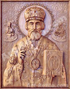 20-Saint-Nicholas-Orthodox-Wooden-Carved-Icon-Large-god-Christian-Gift