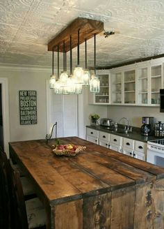 ceiling tiles in the kitchen