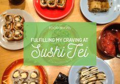 My non-stop craving for sushi! 😅 #FoodTravel #Food #KulinerSurabaya #Sushi #JapaneseFood