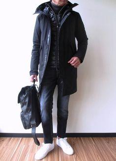 HERNO 2015FW Laminar Winter Outfits Men, Stylish Mens Outfits, Casual Outfits, Men Casual, Timeless Fashion, Minimalist Fashion, Winter Fashion, Menswear, Mens Fashion