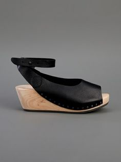 Trippen platform clog/sandal