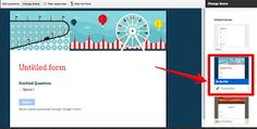 Educational Technology and Mobile Learning: New- You Can Now Add Pictures and Customize The Background of Google Froms