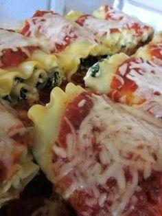 Recipes, Dinner Ideas, Healthy Recipes  Food Guide: Spinach Lasagna Rolls