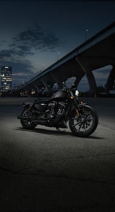 The Iron 883 is a nimble urban machine that kicks asphalt. | 2016 Harley-Davidson #DarkCustom