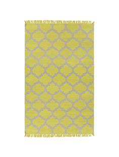 Mariett Indoor/Outdoor Rug, Lemon