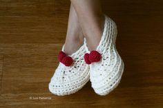 Christmas Morning Socks Crochet Pattern