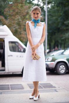 +20 Maneras Aprobadas Por El Street Style De Usar Vestidos Este Verano | Cut & Paste – Blog de Moda