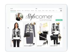 In case you missed it yesterday, we have a very own stylist on the app! Find Samantha's Style Corner from app's front page.