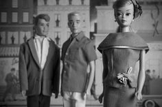 Barbie, Ken, and Allan hit the town. But whos going home with who?    8 x 12 fine art photograph, printed at a professional lab on archival paper