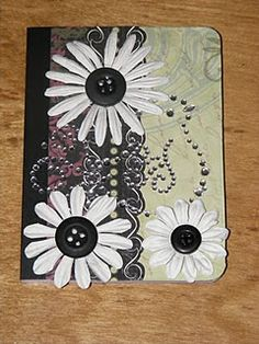 Altered mini composition notebook...