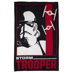 Lucasfilm Red And Black Star Wars Classic Stormtrooper Fleece Blanket
