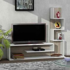 Chic and Modern TV wall mount ideas. Here are 15 best TV wall mount ideas for any place including your living room. Tv Unit Decor, Tv Wall Decor, Tv Wanddekor, Tv Unit Furniture, Furniture Design, Furniture Plans, Modern Furniture, Modern Tv Wall Units, Living Room Tv Unit Designs
