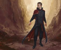 Marvel Studios concept artist Andy Parkreleased a couple pieces of concept  art he created for Scott Derrickson's Doctor Strange. The art features the  Sorcerer Supreme wearing a completely different type of costume, and I  personally think they're pretty badass, especially the one above. It's a