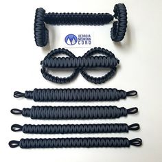 This is for a JK/JKU ONLY paracord grab handles in Gunmetal Gray Set includes: two front grab handles that wrap around the roll bar bow stainless steel shackles. two rear gr Jeep Jk, Jeep Truck, Wrangler Accessories, Car Accessories, Jeep Wrangler Upgrades, 2018 Jeep Wrangler Unlimited, White Jeep, Adventure Car, Rolling Bar