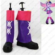 New Twilight Sparkle Cosplay Boots Anime Shoes Custom Made #Affiliate