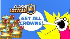 Clash Royale gameplay and opening crown chests