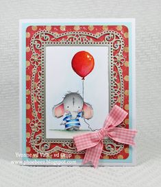 Phoebeez: May 2018 Lily Of The Valley, Baby Cards, I Card, Birthday Cards, Elephant, Card Making, Stamp Sets, A5, Colouring