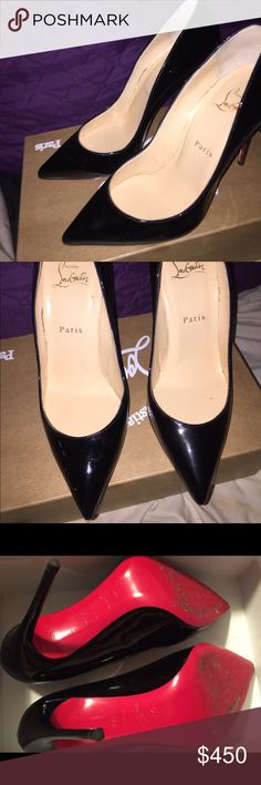 Christian louboutin pigalle follies 100 patent Good condition doesn't come with dust bag just box. 100% authentic. Christian Louboutin Shoes Platforms