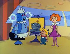 Yowp: The Jetsons – Rosey's Boyfriend Turner Classic Movies, Classic Tv, Hanna Barbera, Cartoon Shows, Cartoon Art, Free Coloring, Coloring Books, Terry Thomas, H Comic