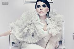 Fashion appreciation Lesson 28: Daphne Guinness for Vogue Italia, Steven Klein+